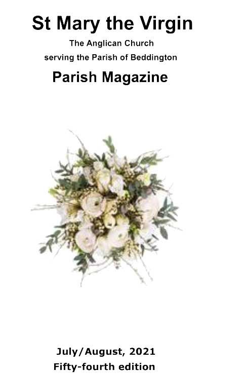 St Mary's, Beddington parish magazine November/December 2014